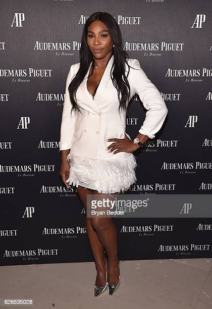 Serena Williams attends the Audemars Piguet Art Commission Presents 'Reconstruction of the Universe' By Sun Xun on November 29 2016 in Miami Beach...