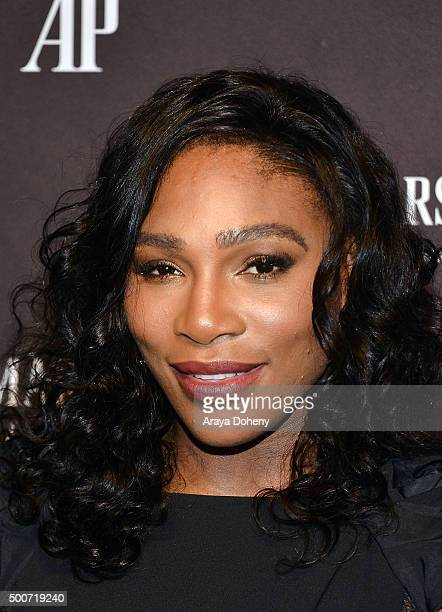 Serena Williams attends the Audemars Piguet grand opening of Rodeo Drive Boutique at Audemars Piguet on December 9, 2015 in Beverly Hills, California.