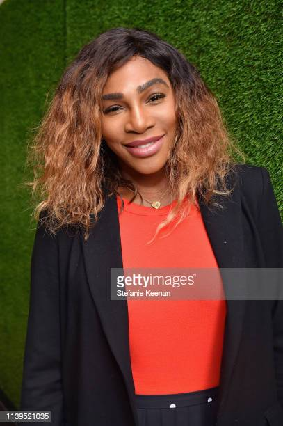 Serena Williams attends the BoF West summit at Westfield Century City on April 26, 2019 in Century City, California.