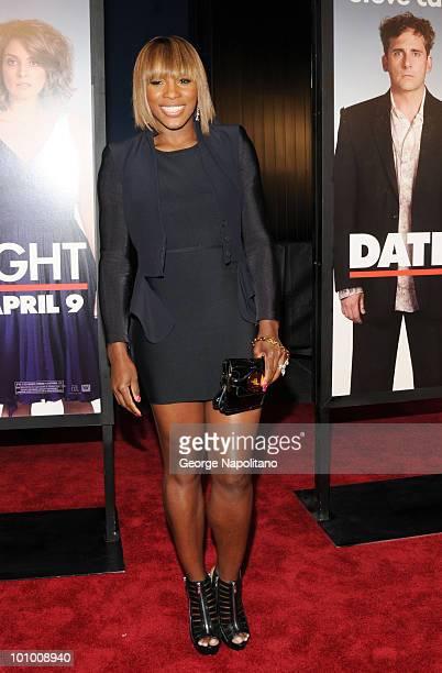 Serena Williams attends the premiere of Date Night at Ziegfeld Theatre on April 6 2010 in New York City