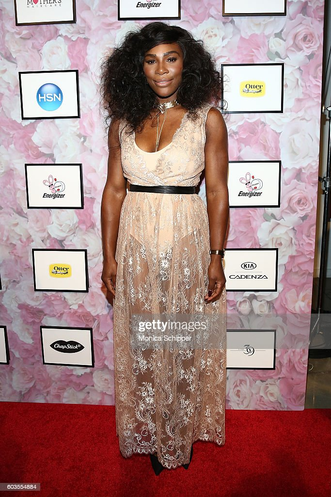 Serena Williams attends the Serena Williams Signature Statement Collection By HSN during Style360 Fashion Week at Metropolitan West on September 12, 2016 in New York City.