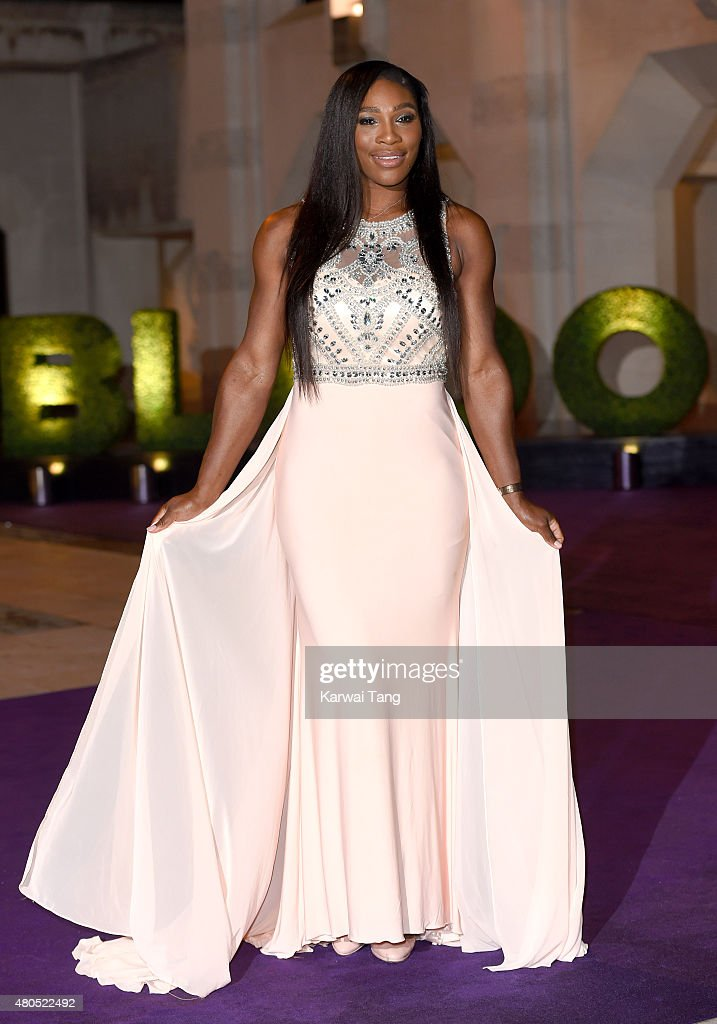 Serena Williams attends the Wimbledon Champions Dinner at The Guildhall on July 12, 2015 in London, England.