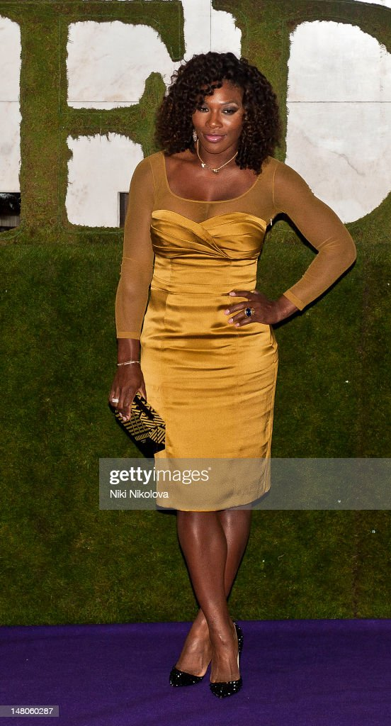 Serena Williams attends the Wimbledon Championships Winners Ball at InterContinental Park Lane Hotel on July 8, 2012 in London, England.