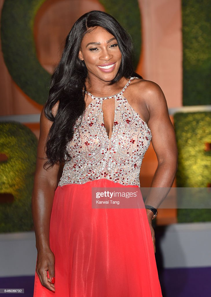 Serena Williams attends the Wimbledon Winners Ball at The Guildhall on July 10, 2016 in London, England.