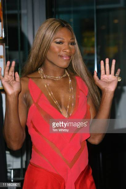 Serena Williams during 'After The Sunset' London Premiere Arrivals at Vu in London Great Britain