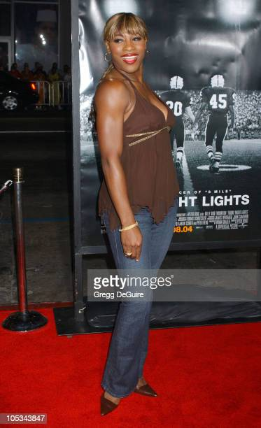"""Serena Williams during """"Friday Night Lights"""" Los Angeles Premiere - Arrivals at Grauman's Chinese Theatre in Hollywood, California, United States."""