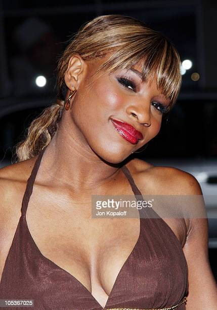 """Serena Williams during """"Friday Night Lights"""" - World Premiere at Grauman's Chinese Theatre in Hollywood, California, United States."""