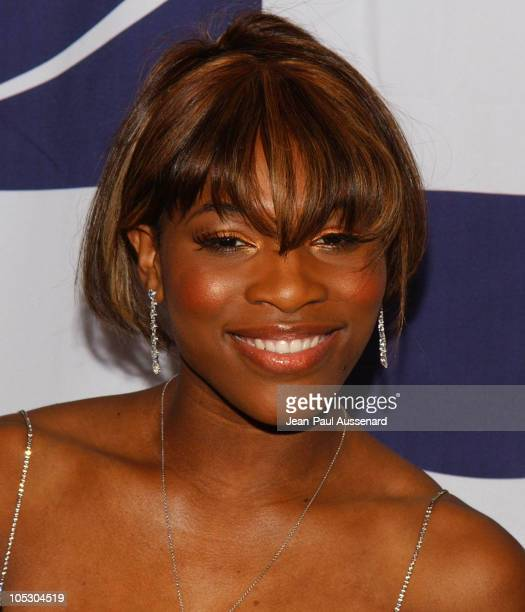 Serena Williams during The 2003 Rising Stars Gala Presented by Big Brothers Big Sisters of Los Angeles at Century Plaza Hotel in Century City...