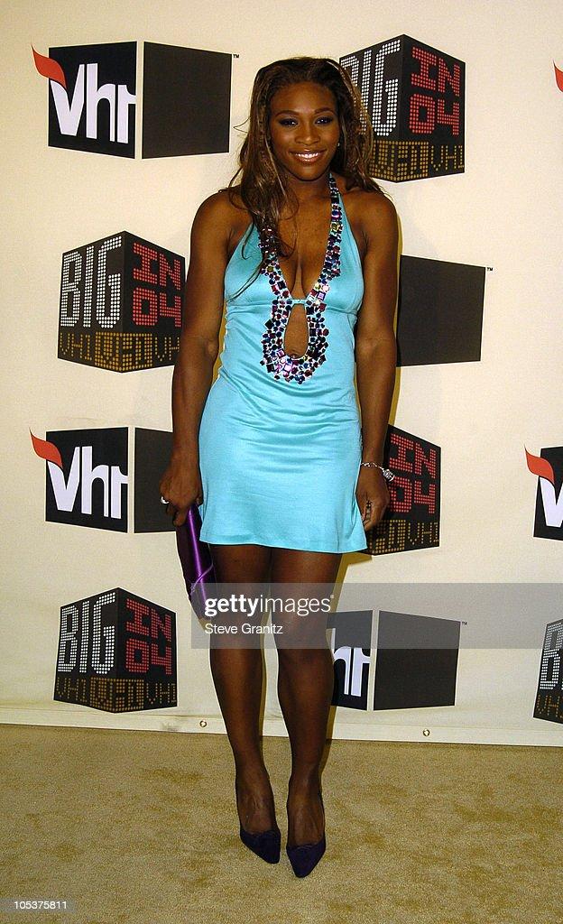 Serena Williams during VH1 Big in '04 - Arrivals at Shrine Auditorium in Los Angeles, California, United States.