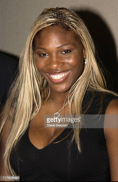 Serena Williams during WTA Stars in Fashion Show to Benefit City of Hope Staples Center Foundation and Sanax WTA Tour Charities at The Fairmont...