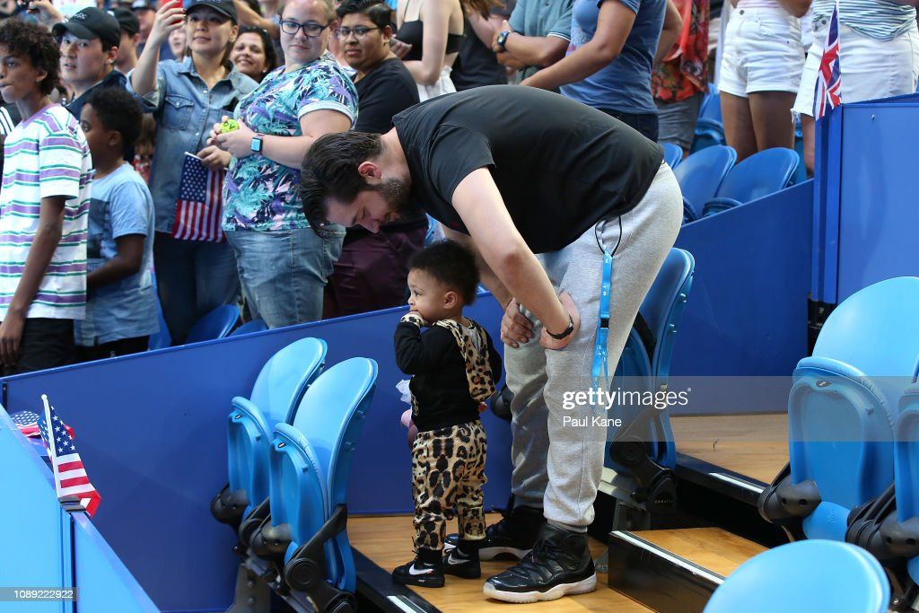 2019 Hopman Cup - Day 6 : News Photo