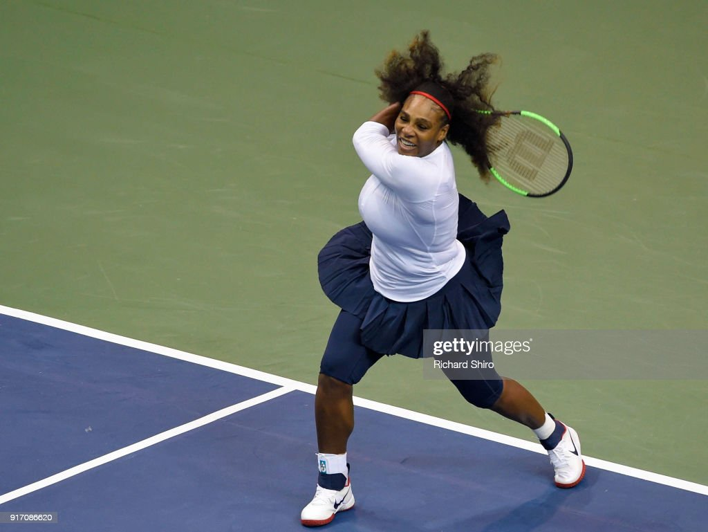 2018 Fed Cup First Round - Team USA v the Netherlands : News Photo