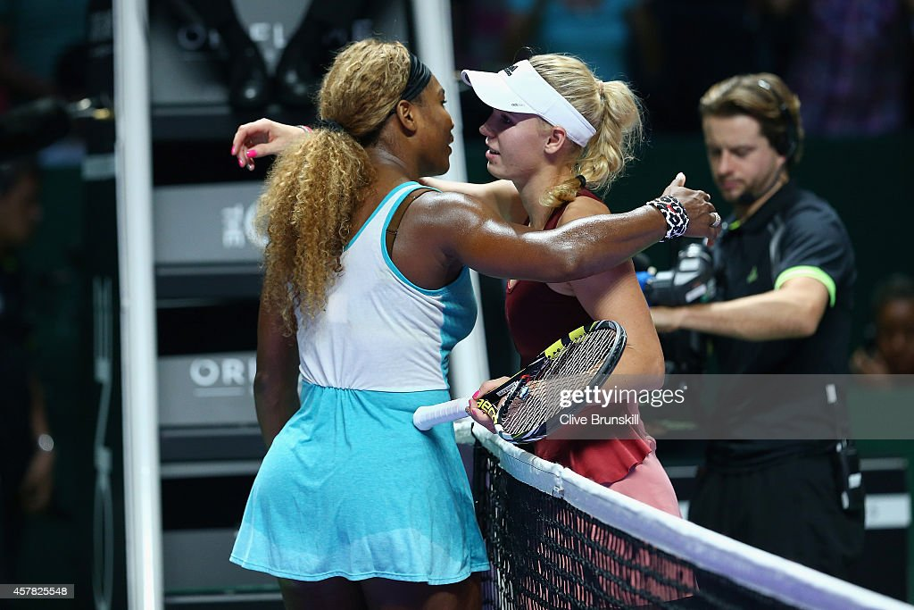 BNP Paribas WTA Finals: Singapore 2014 - Day Six : News Photo