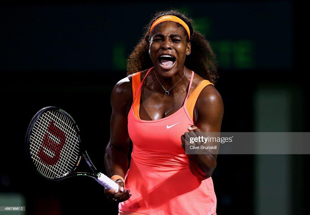 Miami Open Tennis - Day 11 : News Photo