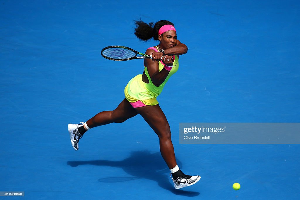 2015 Australian Open - Day 4 : News Photo