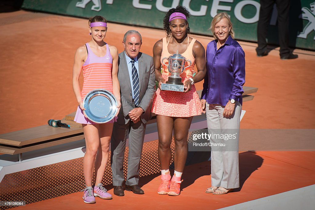Celebrities At French Open 2015  - Day Fourteen : News Photo
