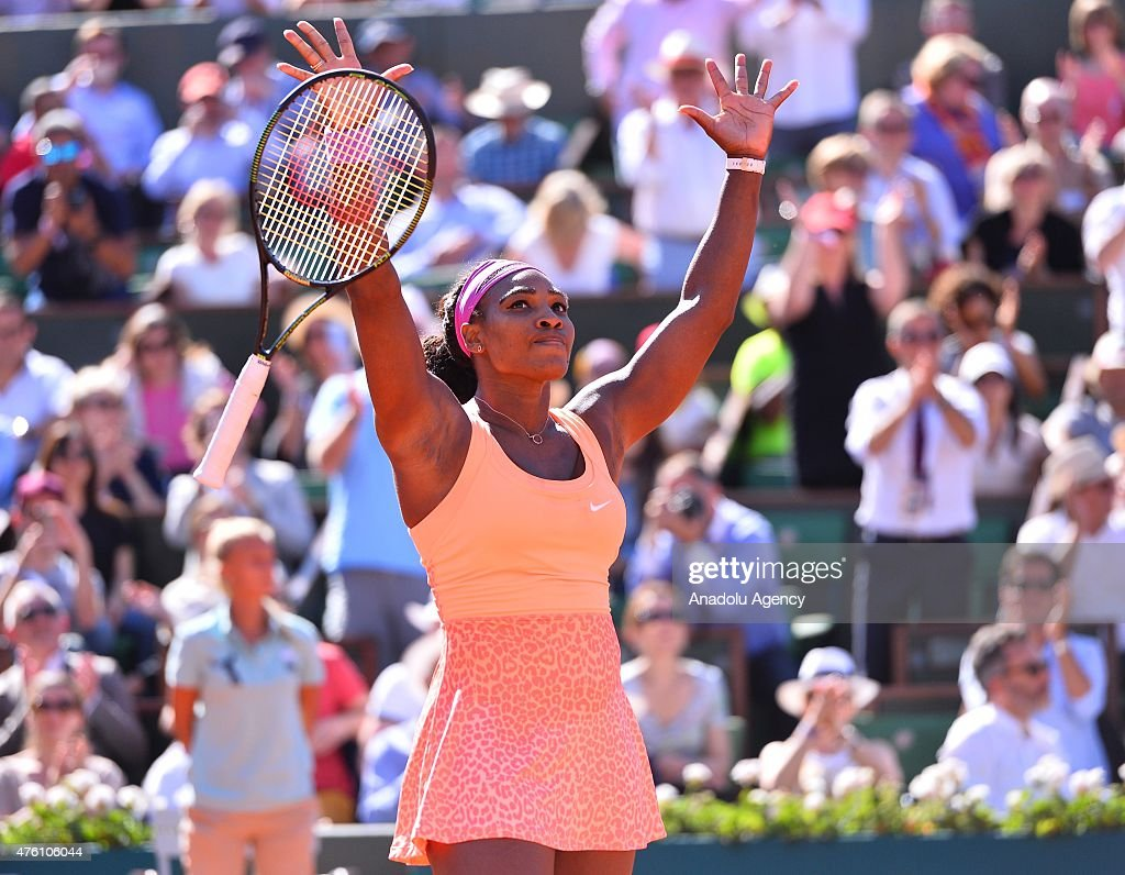 2015 French Open - Serena Williams : News Photo