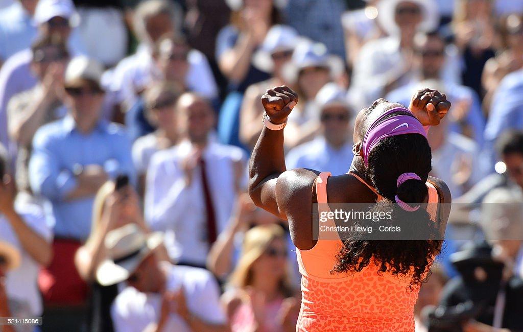 Tennis - French Open - Women's Semi Final : News Photo