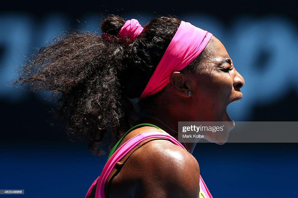 2015 Australian Open - Day 6 : News Photo