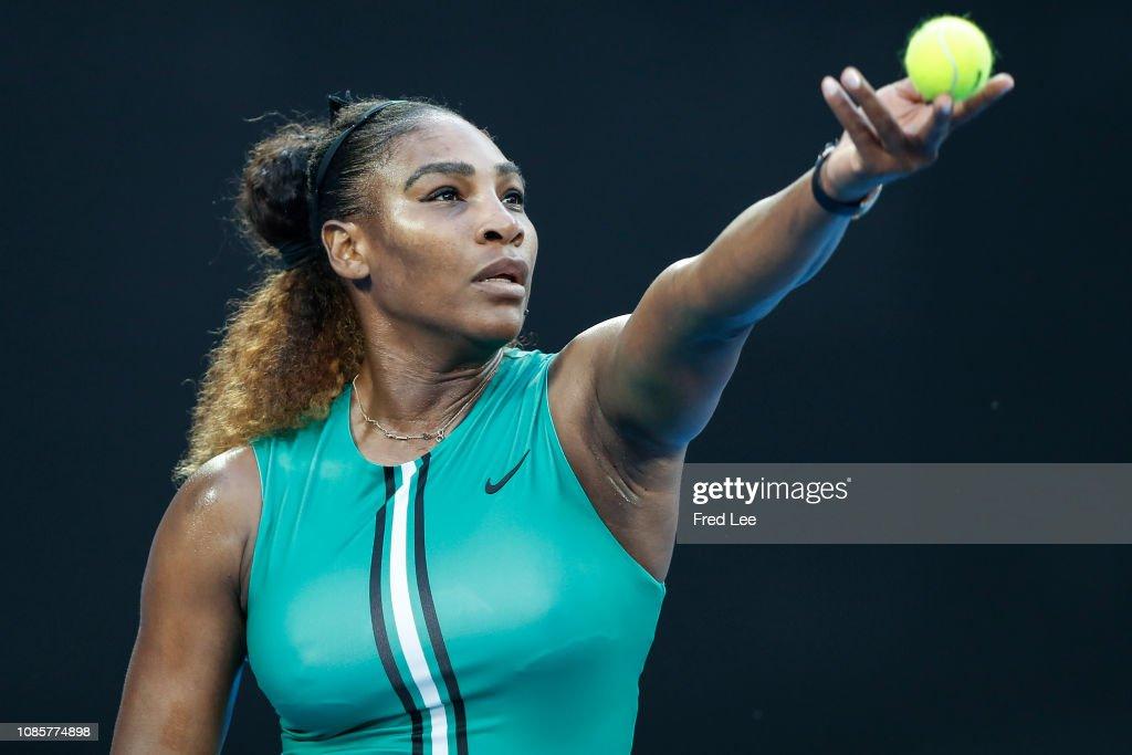 2019 Australian Open - Day 8 : News Photo
