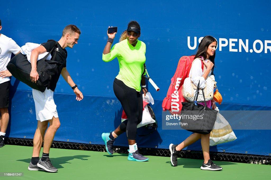 2019 US Open - Qualifying & Training : ニュース写真