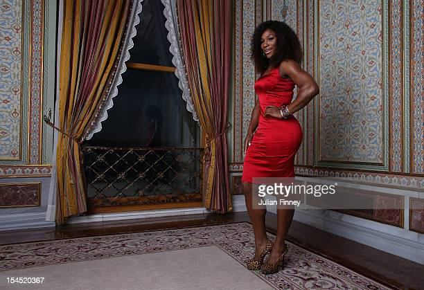 Serena Williams of USA poses for a portrait during previews for the TEB BNP Paribas WTA Championships - Istanbul on October 21, 2012 in Istanbul,...