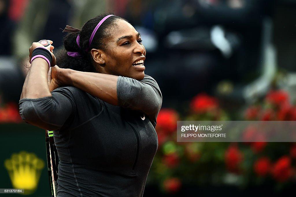 ITALY-TENNIS-WTA-ITA : ニュース写真