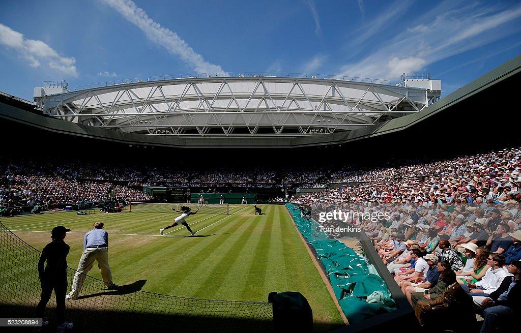 Wimbledon day twelve : News Photo
