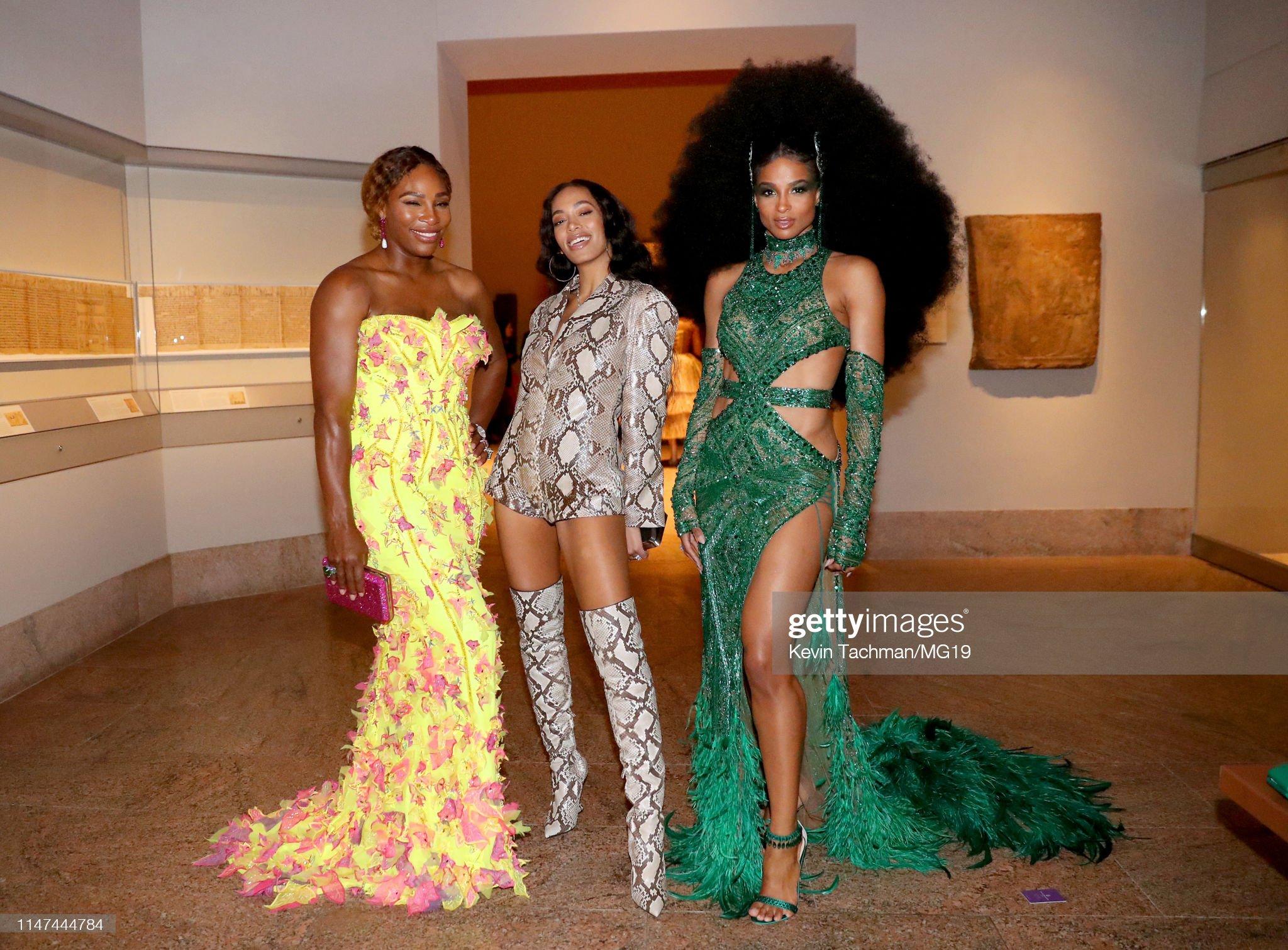 The 2019 Met Gala Celebrating Camp: Notes on Fashion - Inside : News Photo