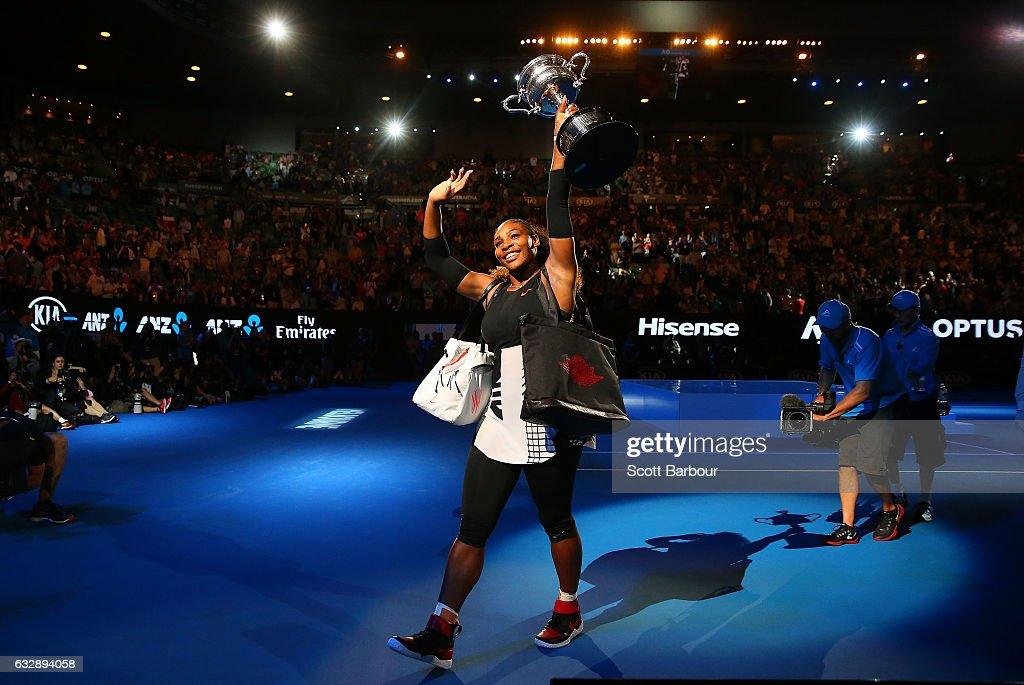 2017 Australian Open - Day 13 : News Photo