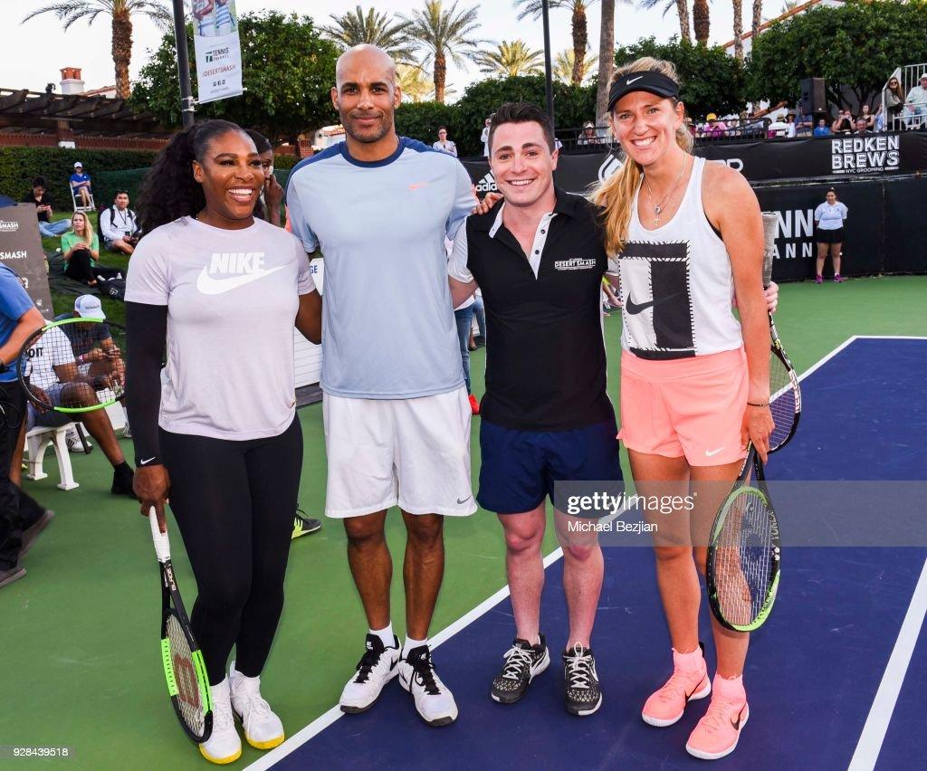 14th Annual Desert Smash Celebrity Tennis Event : Foto di attualità