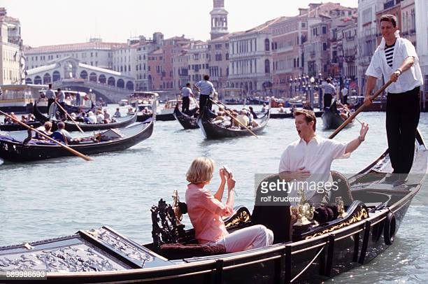 A Serenade on the Grand Canal in Venice