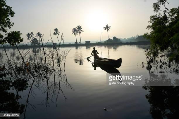 serene kadamakkudy,kerala - kochi india stock pictures, royalty-free photos & images