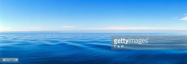 serene panorama of great lake. beautiful. - lake superior stock pictures, royalty-free photos & images