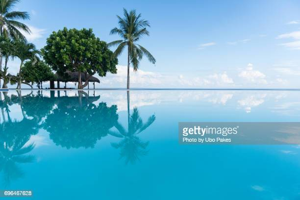 serene pool - cebu stock photos and pictures