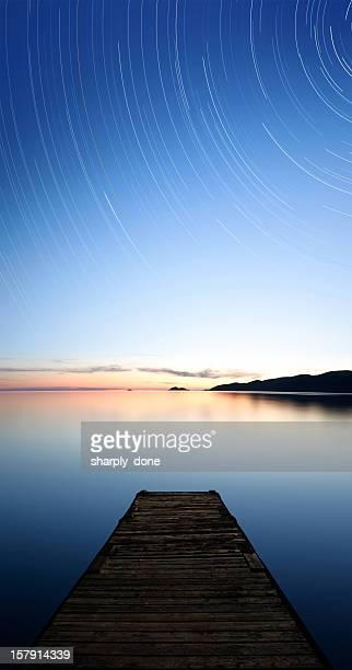 XXXL serene starry lake