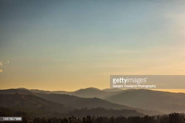 A Serene Sunset, South America