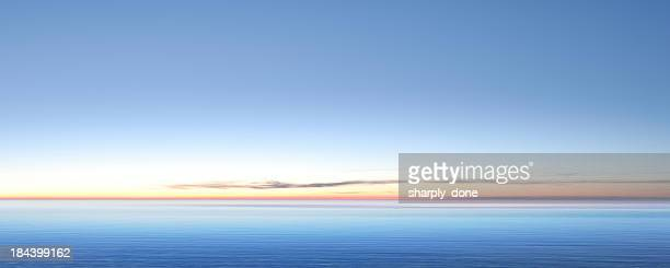 xxl serene twilight lake - horizon over water stock pictures, royalty-free photos & images