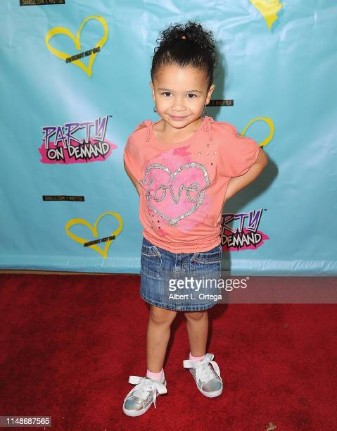 Serenity Russell attends the Release Party For Dani Cohn And Mikey Tua's Song Somebody Like You held at The Industry Loft on June 8 2019 in Los...