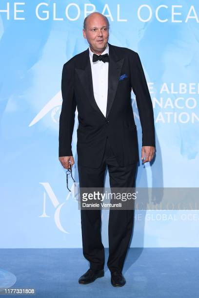 Serge di Jugoslavia attends the Gala for the Global Ocean hosted by H.S.H. Prince Albert II of Monaco at Opera of Monte-Carlo on September 26, 2019...
