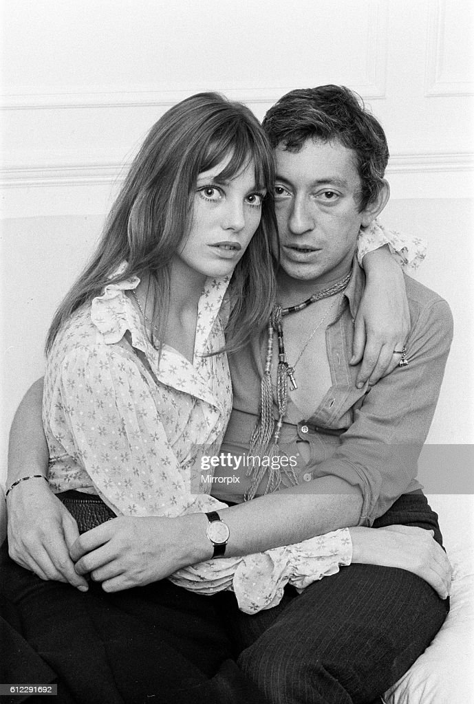 12aa3f086a3e Serge Gainsbourg Actor With Actress Jane Birkin In Their Chelsea Home    News Photo