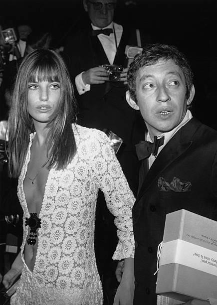 Serge Gainsbourg And Jane Birkin Wall Art
