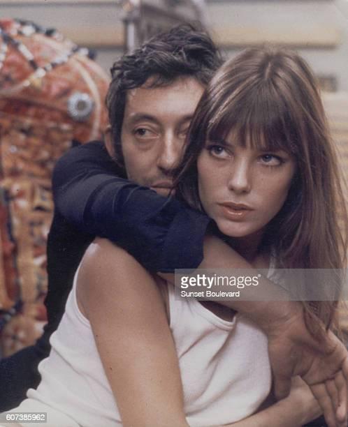 Serge Gainsbourg and Jane Birkin in 'Cannabis/French Intrigue' by Pierre Koralnik