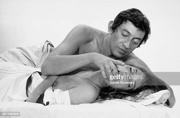 Serge Gainsbourg and Jane Birkin in 'Slogan' by Pierre Grimblat