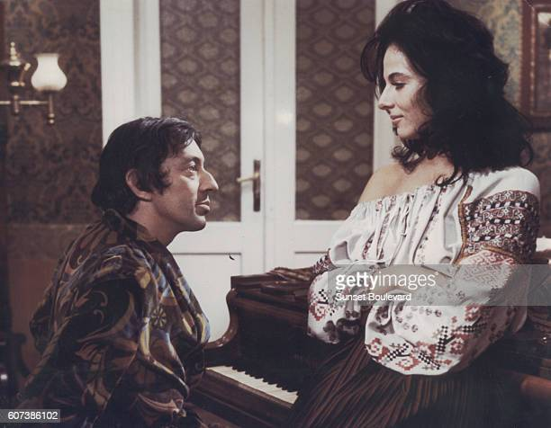 Serge Gainsbourg and Marilu Tolo in 'Romance of a Horsethief' by Abraham Polonsky