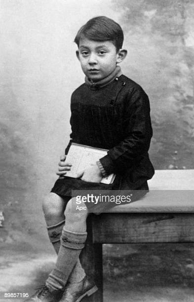 Serge Gainsbourg here as a child in 1934