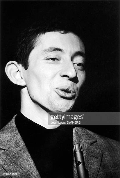 Serge Gainsbourg in France in 1960.