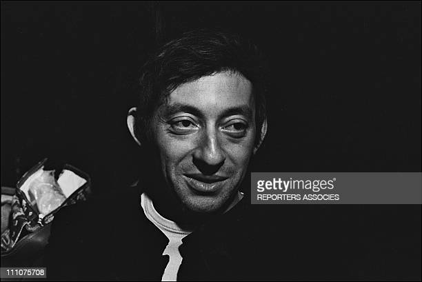 Serge Gainsbourg in France on December 19th, 1967.