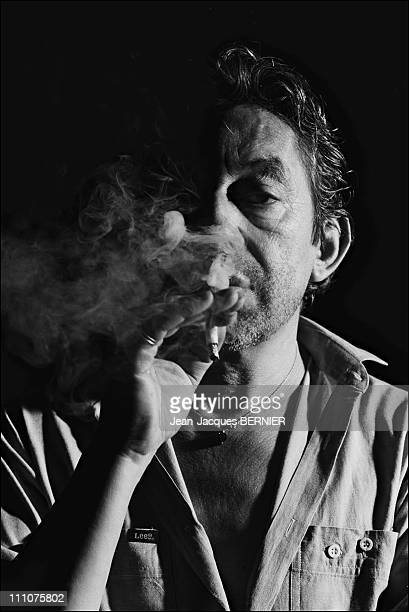 Serge Gainsbourg in France on July 10th 1985