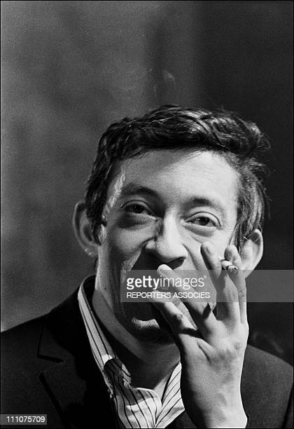 Serge Gainsbourg in France on March 23rd 1966